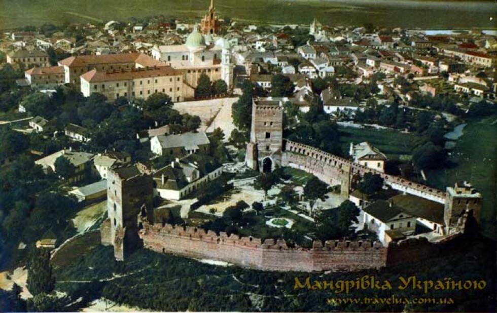 Старе місто з висоти