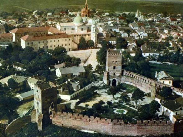 Старе місто з висоти пташиного польоту