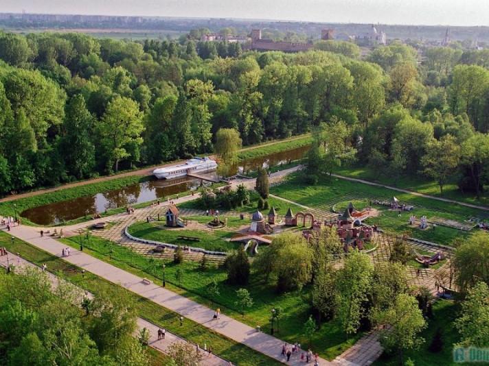 Зелене місто Луцьк у 90-ті роки