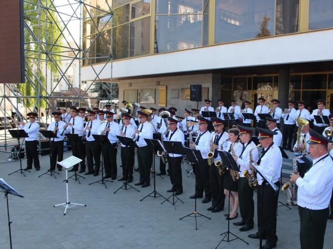 Зведений оркестр військових частин