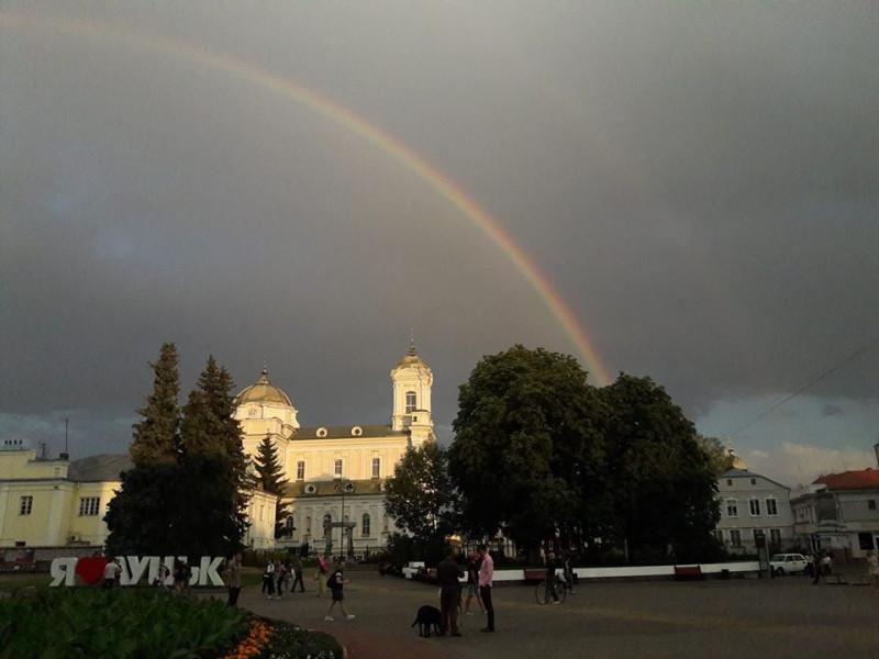 Веселка в Луцьку