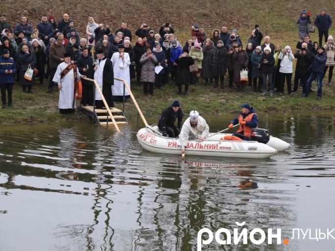 Освячення води у річці Стир