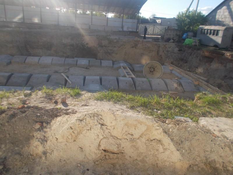 Котлован під будинок вирили 15 квітня