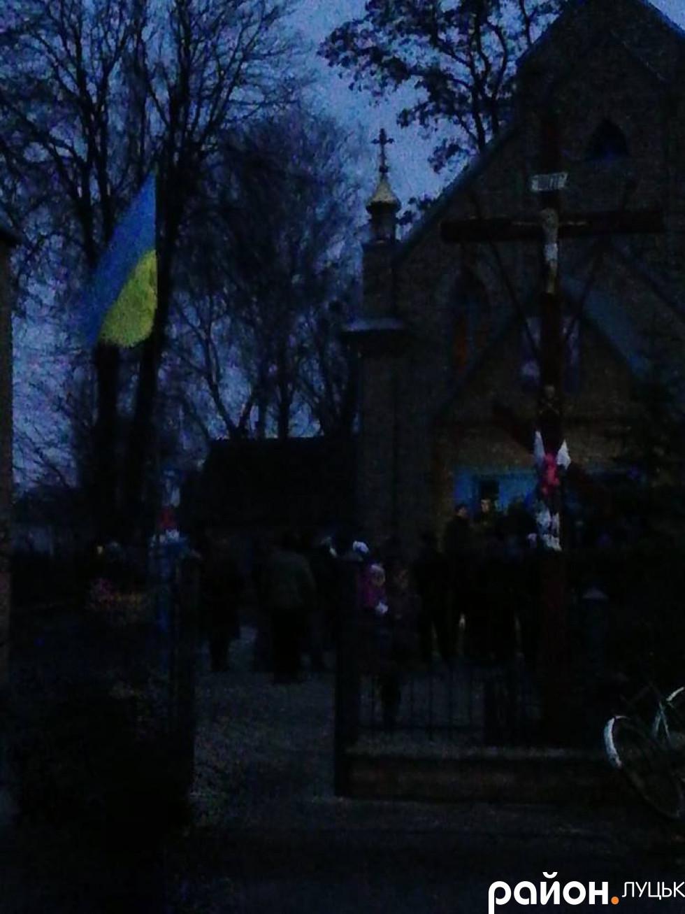 Вечір, коли селяни спиляли замки, щоб потрапити в церкву
