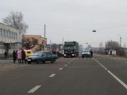 у Гіркій Полонці трапилась аварія