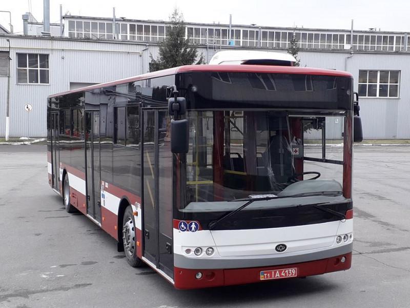 «Богдан» у строк виконує контракт із поставки партії автобусів для Івано-Франківська