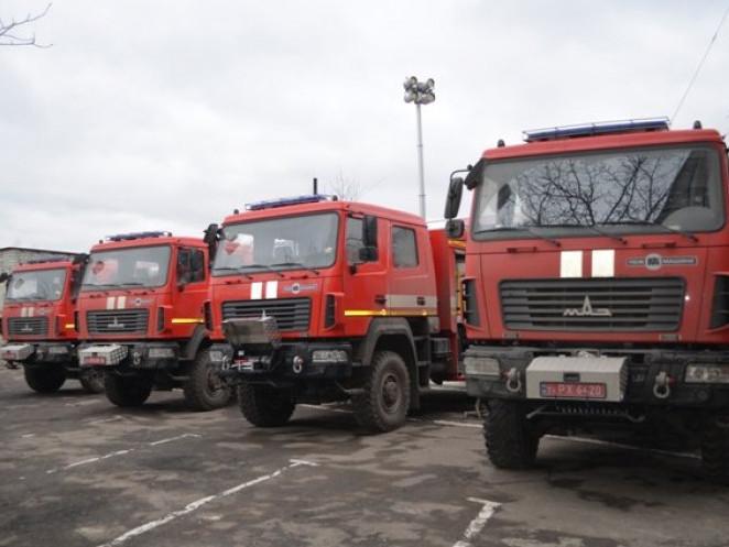 Нові пожежні машини