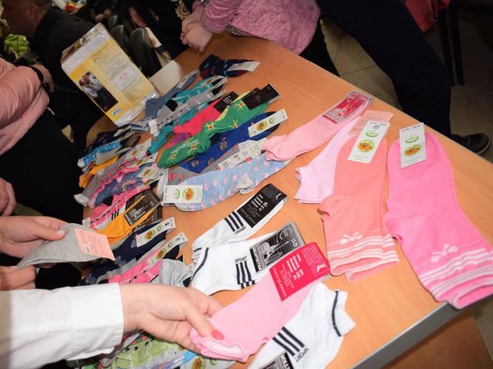 міжнародна акція «Lots of Socks»