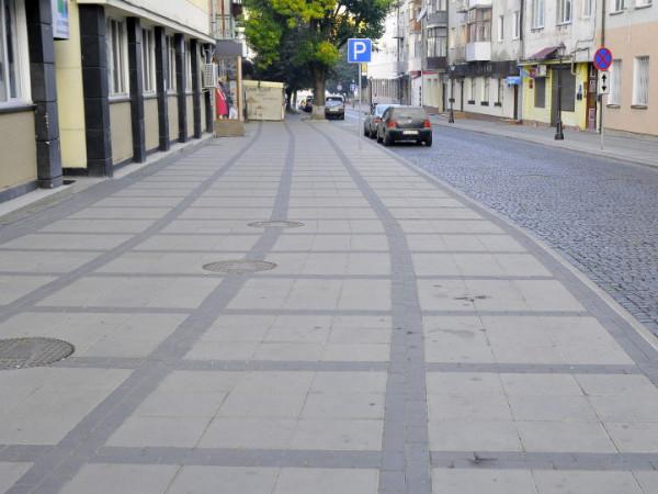 Бруківка «Квадрат» і «Цеглинка» на вулиці Кривий Вал у Луцьку