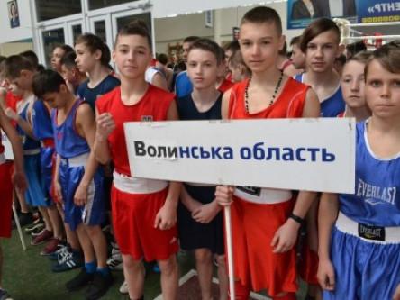 Юні волиняни вибороли нагороди на всеукраїнських змаганнях з боксу