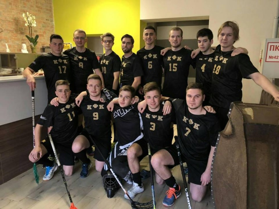 Спортсмени з Kyiv Floorball Club