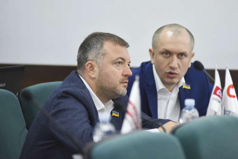 Андрій Покровський та Микола Яручик