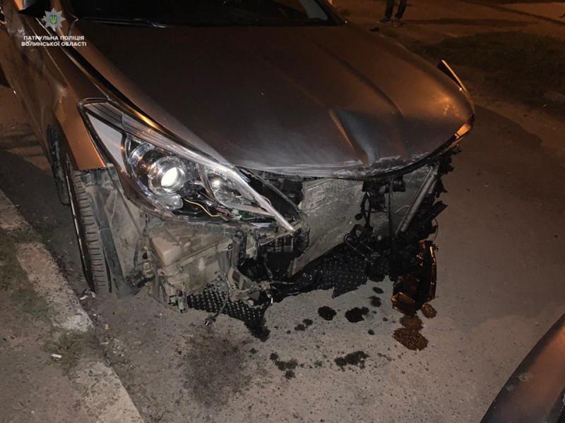 у Луцьку - аварія