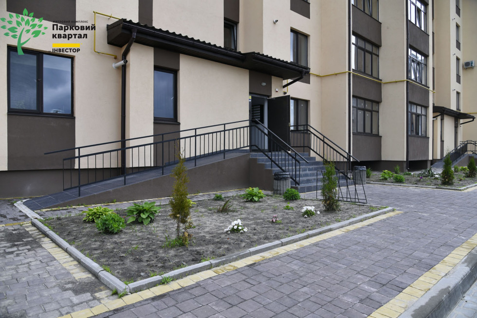 Перший будинок ЖК «Парковий квартал»