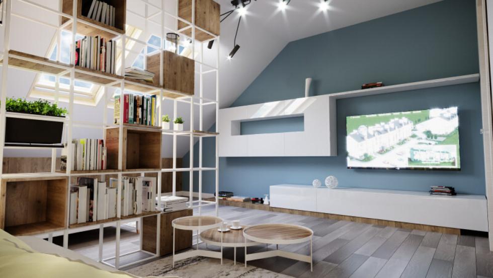 Зразок дизайну кімнати в квартирі в третьому будинку ЖК «Юпітер»