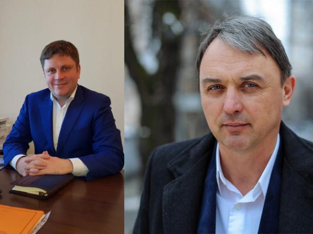 Денис П'ятигорець та Ігор Лапін