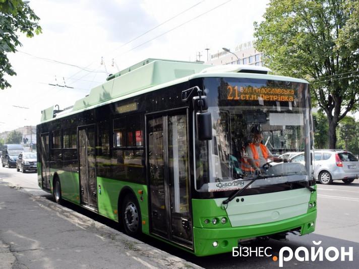 Тролейбус для Харкова
