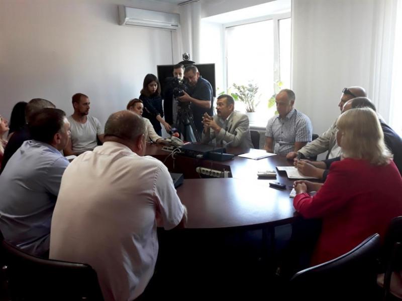 Під час зустріч у «Волиньобленерго»