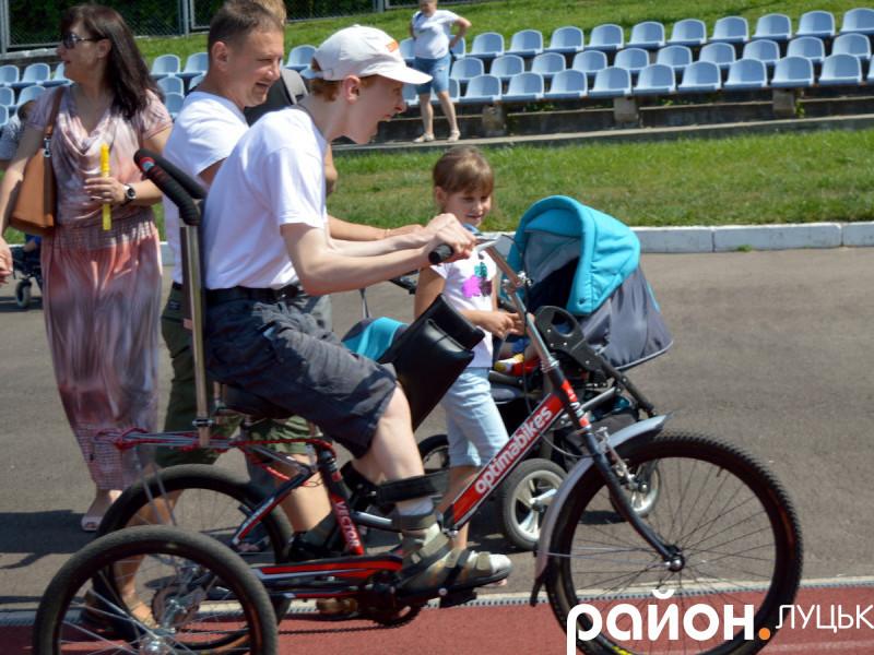 «Марафон на колесах» у Луцьку