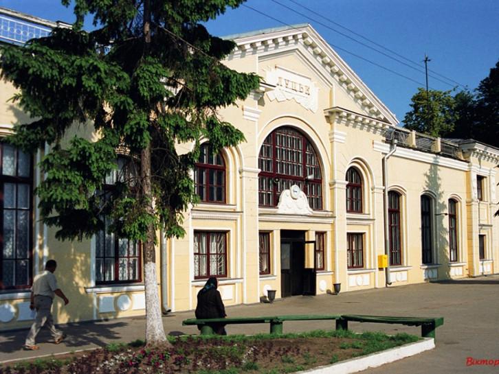 Луцький вокзал до реконструкції