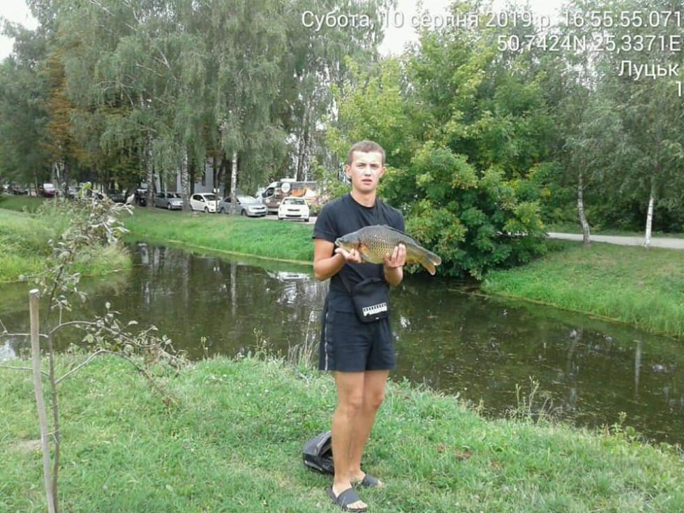 Рибалка, який незаконно ловив рибу