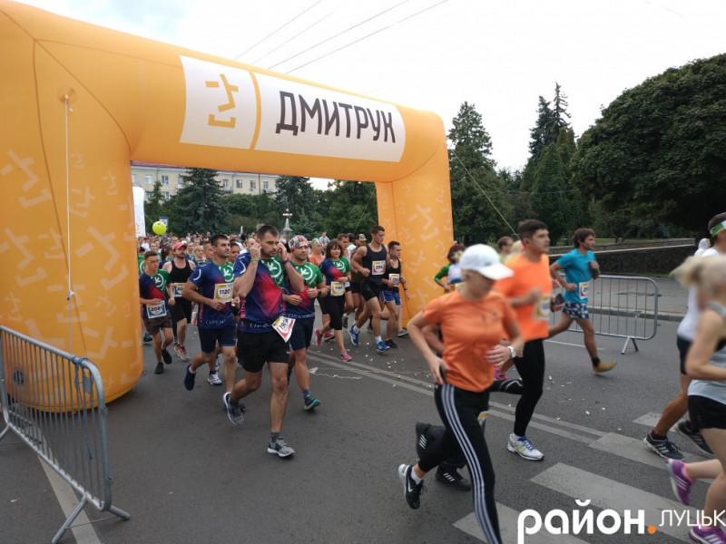 Старт «Лучеськ півмарафону-2019»