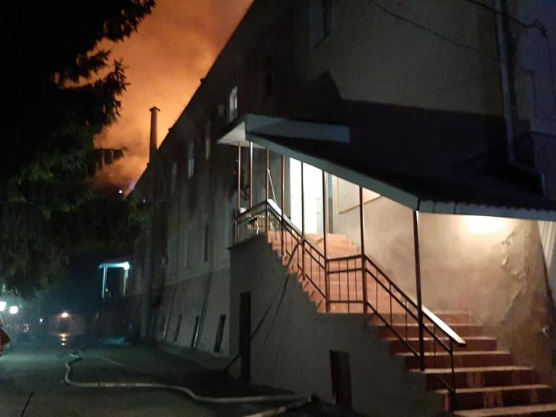 пожежа у військовому госпіталі