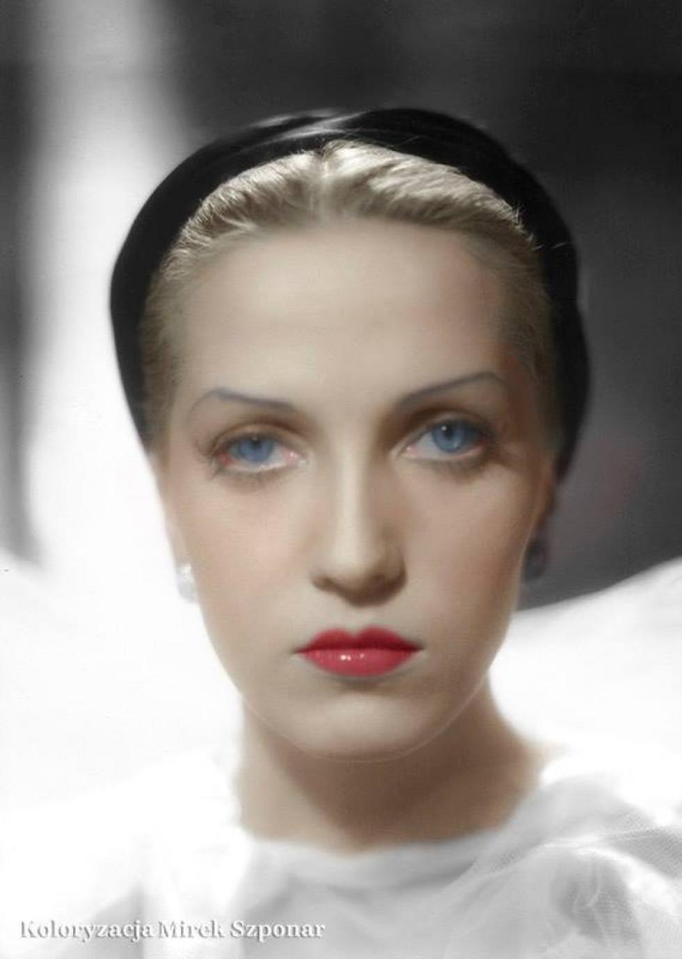. Тамара Вишневська, 1950-ті роки.