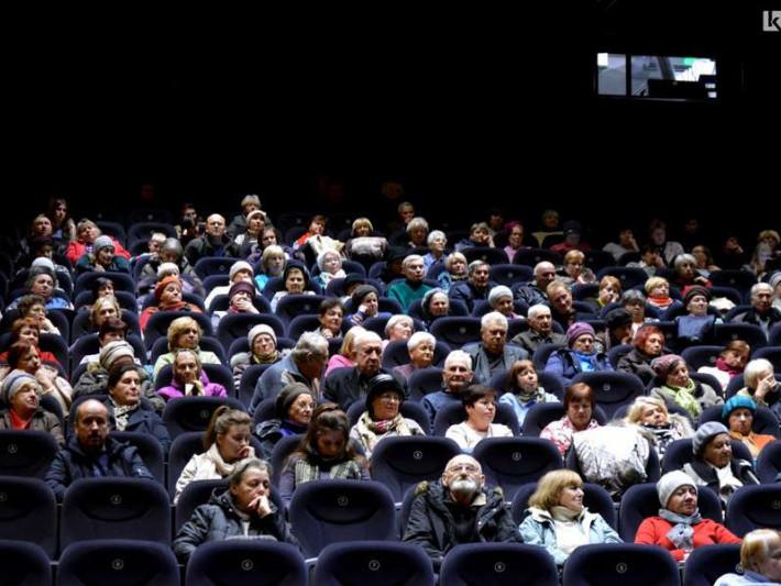 Велика зала та зустріч із режисером: як лучани дивилися українське кіно