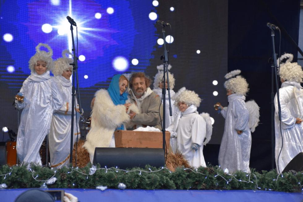У центрі Луцька розпочався різдвяний фестиваль. ФОТО