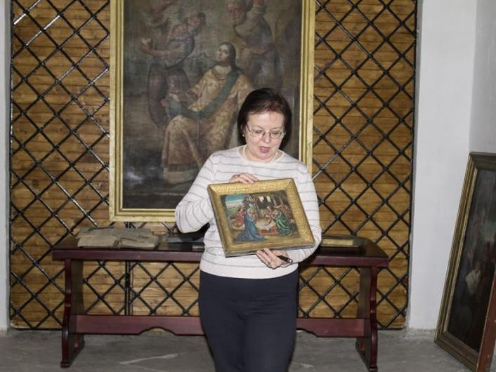 В Острозі побували стародавні ікони з луцького музею
