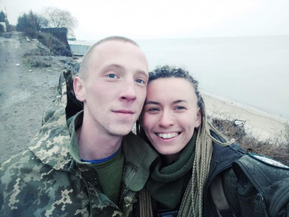 Микола Сорочук та Ярина Чорногуз