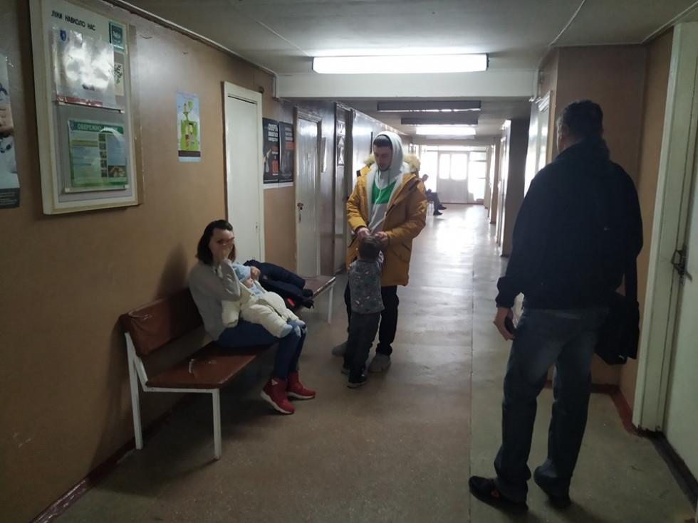 У Центрі первинної медичної допомоги Луцька скупчення людей через зростання захворюваності на грип та ГРВІ немає