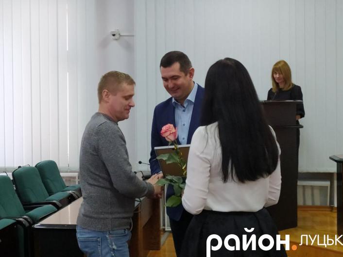 У Луцьку нагородили підприємців