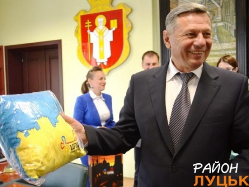 Микола Романюк в об'єктиві Район.Луцьк