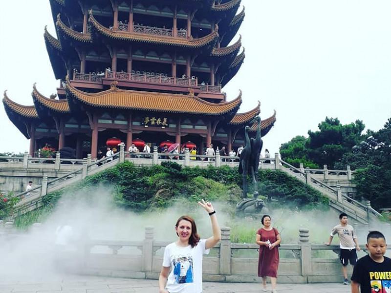 Українка в Китаї