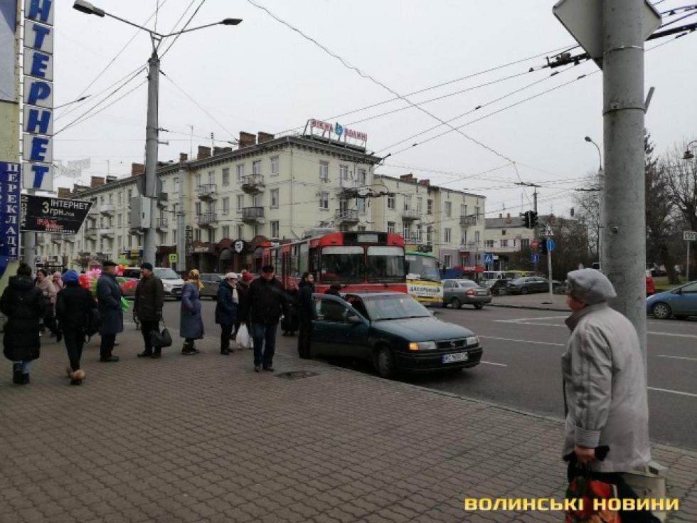 Аварія у Луцьку