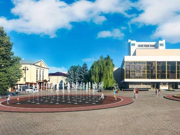 Проект фонтану