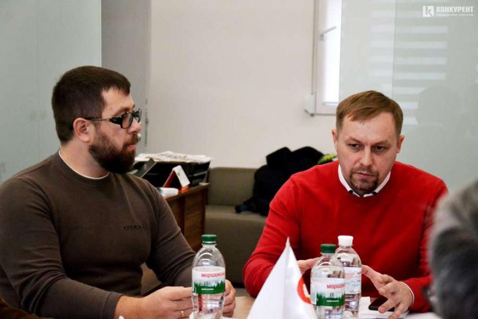 Андрій Сірук та Михайло Наход
