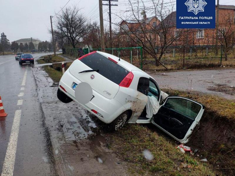 Аварія у Заборолі: дитину врятувало автокрісло