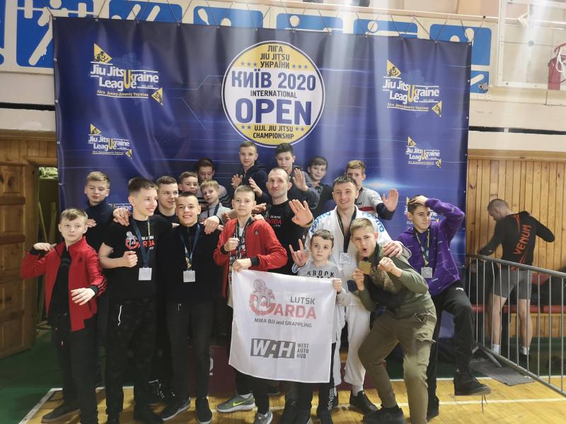 Луцька Garda привезла«золото», «срібло» та«бронзу» з національного чемпіонату