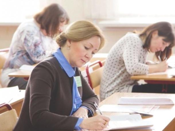 У Луцьку вчителі початкової школи здавали зовнішнє незалежне оцінювання