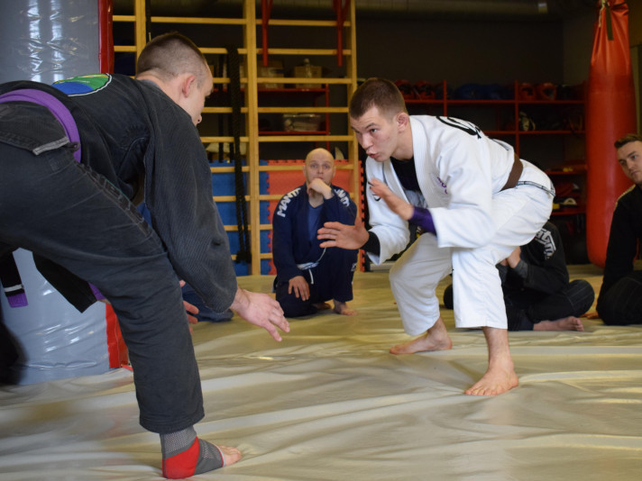 Чемпіон Європи з джиу-джитсу ділився досвідом з луцькими спортсменами