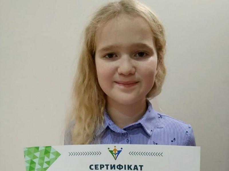 11-річна бізнес-леді з Боратина дає майстер-класи з улюбленої справи