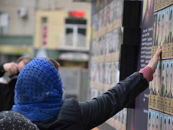 У Луцьку вшанували військових, які загинули в зоні АТО і ООС