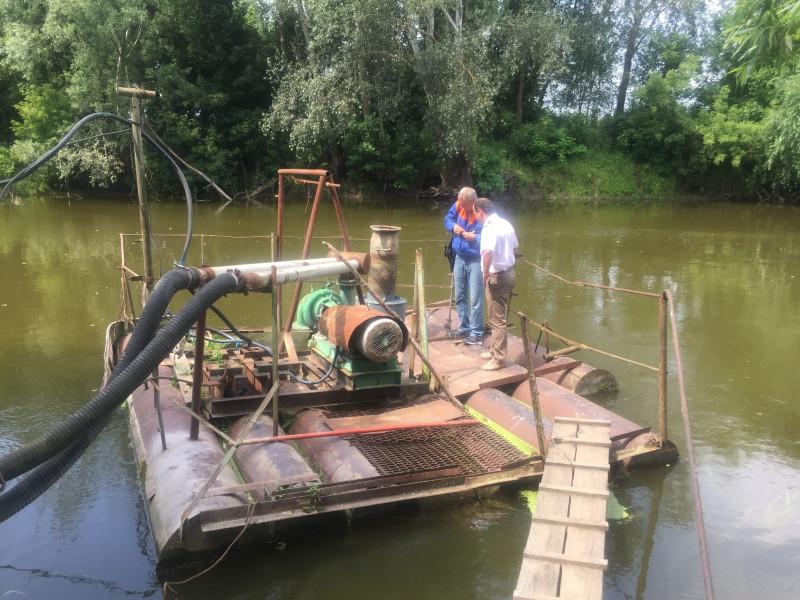 На Стиру встановили рибозахисний пристрій