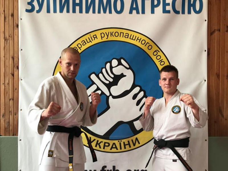 Двоє тренерів із Луцька отримали почесні звання «Володарів чорних поясів»