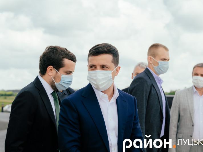 Володимир Зеленський на Волині