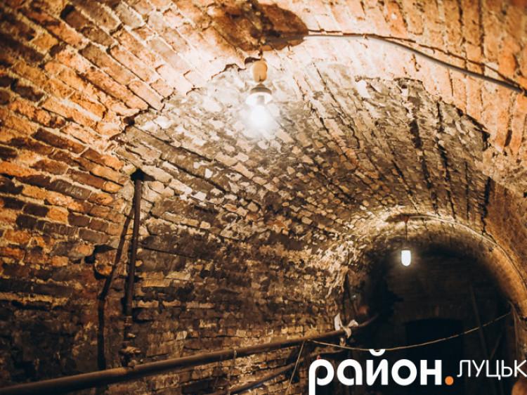 Створили перший віртуальний тур Луцьким підземеллям