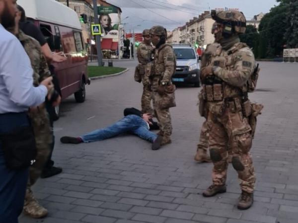 Затримання Максима Кривоша